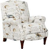 Shop a great selection of Sunset Trading Bird Script Pushback Recliner, Neutral. Find new offer and Similar products for Sunset Trading Bird Script Pushback Recliner, Neutral. Farmhouse Recliner Chairs, Farmhouse Furniture, Wingback Chair, Armchair, Chair Cushions, Club Chairs, Lounge Chairs, Room Chairs, Joss And Main