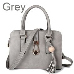 56b2ed040f18 ZMQN Small Handbags For Women Crossbody Bags New Arried 2017 PU Leather  Bolsa Feminina Bag Female Tassel Handbag Black Grey