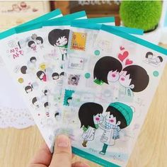 Buy 'MissYou – Cartoon Sticker Set' with Free International Shipping at YesStyle.com. Browse and shop for thousands of Asian fashion items from China and more!