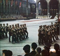 Parade at the Odeonsplatz in Munich -1938