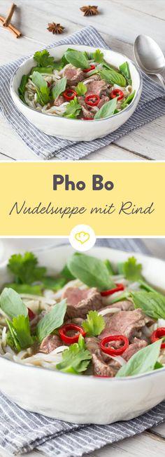 Wie wäre es mal wieder mit Suppe? Fein gewürzt und leicht gemacht mausert sich der Suppenklassiker aus Vietnam auch zum Dauerbrenner auf deinem Teller.