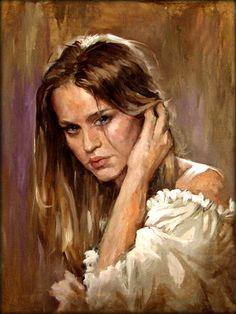 Custom portrait on canvas