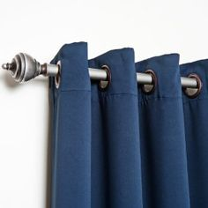 $75 both panels, includes shipping, grommets bronze though  Solid Grommet Top Thermal Insulated Blackout Curtain 95
