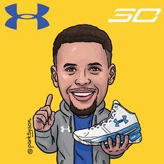 Stephen Curry By Fabjoon Basketball Pinterest Stephen