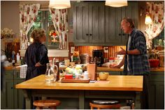 I really like the kitchen from the TV show Parenthood - I would like lighter…