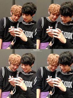 BTS - V and Jungkook