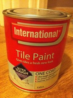 Tile paint tutorial ... http://www.bathroom-paint.net/special-bathroom-paint.php