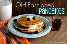 Old Fashioned Homemade Pancakes Recipe from @Judith Zissman Zissman de Munck Change Gourmet