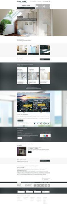 Für unseren langjährigen Kunden HEILER haben wir neue digitale Erlebniswelten geschaffen. Im Mittelpunkt des Relaunchs der Website standen der neue Markenkern des Unternehmens und die Bedürfnisse der User. Hier könnt ihr euch vom Ergebnis überzeugen: www.heiler-glas.de #responsivewebdesign #webdesign