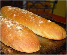 A great bread recipe. I tried it and came out great! It was so great I ate one whole loaf right away.