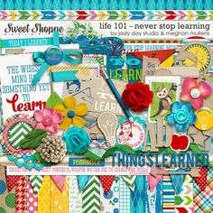 Life 101-August: Never Stop Learning by Jady Day Studio & Meghan Mullens