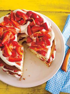 Recette de Ricardo de shortcake aux fraises et au citron