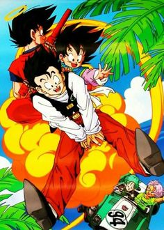 Joy ride.  #SonGokuKakarot