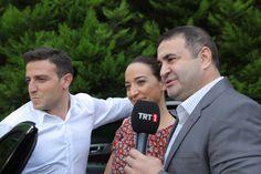 Aziz, Dilek ve Ersin ile set röportajı..