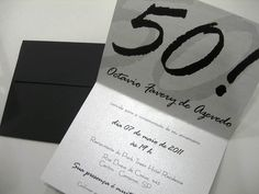 13 Convites Estilosos para Aniversários de 50 Anos continue vendo...