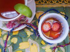 My Tippy-TEA-rita, the perfect margarita for Cinco De Mayo!
