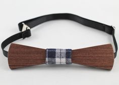 Elegant Wooden Bow Tie by ChicBowTie on Etsy,