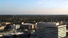 View of Towson's skyline from  the Penthouse Condominium building.