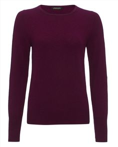 Every woman should own a crew neck sweater in her basics line-up, and this timeless version is a perfect example. Knitted from super-soft cashmere to a neat and flattering fit, it is as cosy as it is chic. This versatile piece can be worn alone or layered over a shirt.
