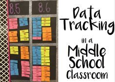 Data Tracking in a Middle School Classroom