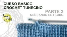 http://www.lanasyovillos.com Segunda parte del curso básico de crochet tunecino, cerrar el tejido. Encuentra muchos patrones de crochet en http://www.lanasyo...