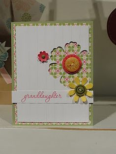 Love the way the flower is punched out of the card.  Beautiful!