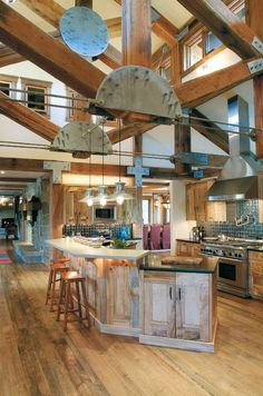 2016 Remodeling Home Trends industrial chic kitchen