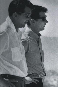 Dean Martin and his son, Craig Martin.