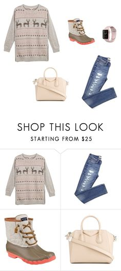 """""""Christmas party"""" by bkw34678 on Polyvore featuring Fat Face, Sperry, Givenchy and christmas2016"""