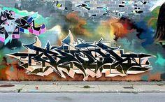 Bacon, graffiti street art