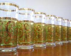 vintage Culver glassware patterns - Google Search