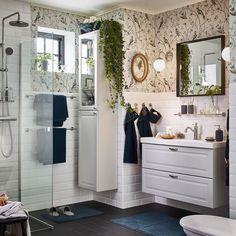 Creez Une Ambiance Apaisante Dans La Salle De Bain Avec Le Lavabo Blanc Et L