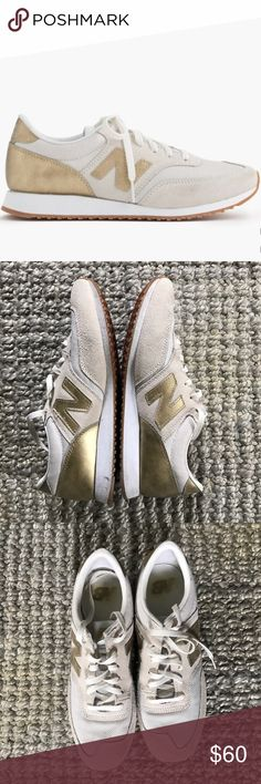 New Balance for J.Crew 620 sneakers sz 9.5 Excellent condition as you can see from the photos. Maybe worn once- zero wear on the soles of the shoes. Size 9.5. New Balance Shoes Sneakers