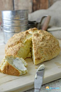 Irish Soda Bread Recipe. Perfect Crusty Loaf Easy For 1st Time Homemade Bread Making! | The Rebel Chick