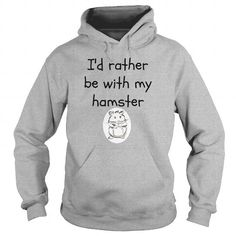 I Love Be with my hamster Shirts & Tees