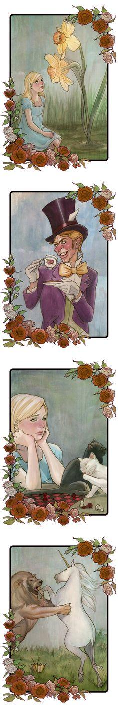 s'more Alice in Wonderland by jfrison.deviantart.com on @deviantART