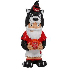 North Carolina State Wolfpack Team Mascot Gnome - $7.99