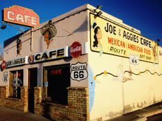 On Route 66 in Holbrook, AZ,, Joe and Aggie's Cafe has been there since the early '40's. Wonderful, friendly service and good food. Still family owned