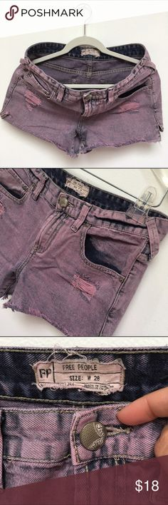 Free People jean short Summer is fast approaching. Stay cool in these distressed denim shorts from Free People! Free People Shorts Jean Shorts