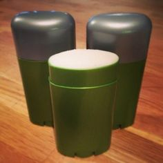 Homemade Deodorant. ALL I USE! Works amazingly well. I never stink :D