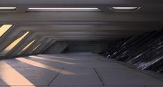 ArtStation - Sci Fi Interior, Roman Prytuliak