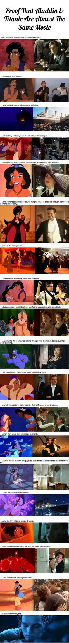 proof that aladdin and titanic are the same movie