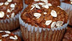 """""""These easy and tasty muffins are a glorious way to start any day. They combine the great taste and chewy texture of carrots with the wonderful flavors of apple, raisins, coconut, walnuts, and cinnamon."""""""