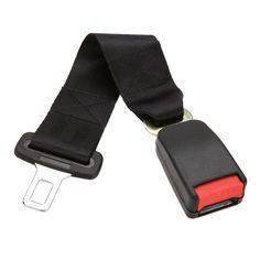 1ピース新しい車車両シートベルト延長エクステンダーストラップ安全バックル黒カーインテリアアクセサリー22ミリメートルバックル車のシートベルト