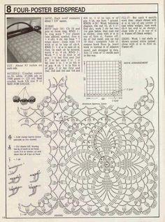 Crochet e artes: Colcha