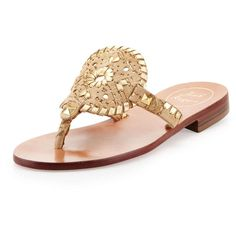 Jack Rogers Georgica Cork/Metallic Thong Sandal ($135) ❤ liked on Polyvore featuring shoes, sandals, jack rogers, sandels, metallic thong sandals, flat shoes, flat thong sandals, thong sandals and low heel sandals
