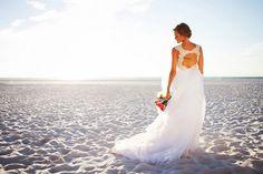 Clearwater Beach, Waterfront Bridal Wedding Portrait in Ivory, Hayley Paige Wedding Dress Clearwater Beach, Destin Beach, Beautiful Sunset, Hayley Paige, Wedding Portraits, Wedding Ceremony, Destination Wedding, Bride, Ivory