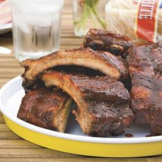 Chris Lilly of Big Bob Gibson's Bar-B-Q shares his recipe for tender grilled ribs. Season grilled ribs with a spice rub, marinate in a...