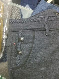 12 Denim Jeans Men, Jeans Pants, Cute Workout Leggings, Sewing Jeans, Men Trousers, Boys Pants, Fashion Details, Work Wear, Menswear