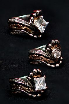 Bob Berg Designs Jewelry. I am so totally obsessed with these. They're really just perfect.